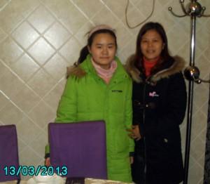 中国妇权义工苏昌兰与小安妮
