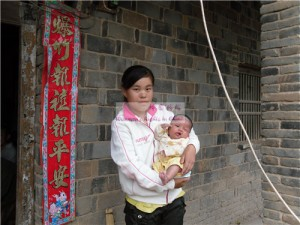 余雅婷和她的妈妈任艳娜