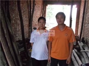 赵娟和她的丈夫谢飞