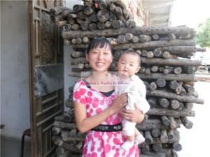 女婴党茹梦和她的妈妈