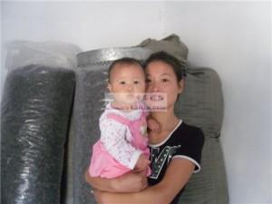 女婴黄沛菡和她的妈妈