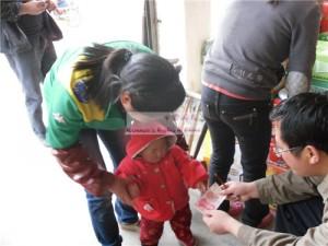 张茉伊和她的妈妈陈英