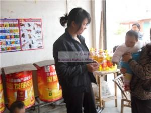 胡紫欣和她的妈妈王红菊