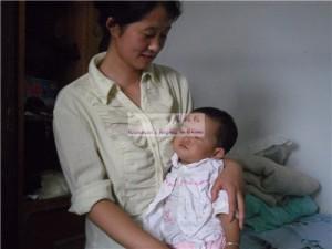董馨蔚和她的母亲魏丹