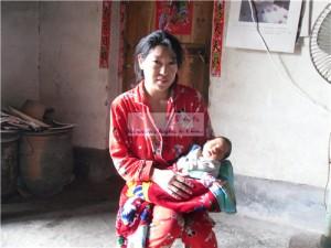 马彤彤和她的妈妈邓金亮