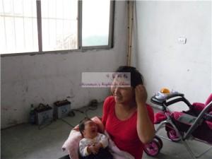 黄雅琪和她的妈妈代满红