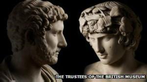 哈德良皇帝在聽聞安提諾烏斯溺死後哭得「肝腸寸斷」。