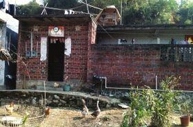 广西兴业县大平山镇南村,受侵害女童小雨(化名)的家。者刘洁
