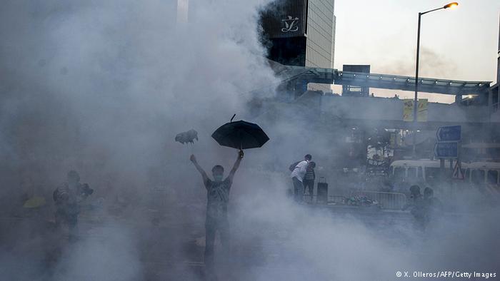 占中组织者:十月一日公布第二阶段抗争行动