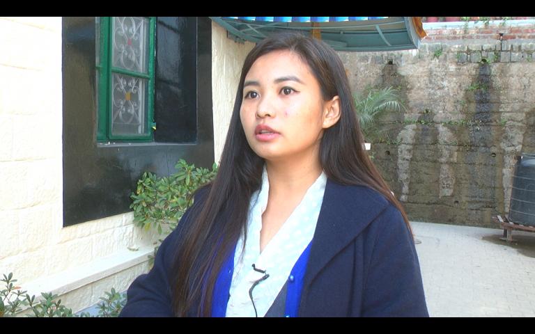 流亡藏人社区女性主义者联盟网编辑格桑