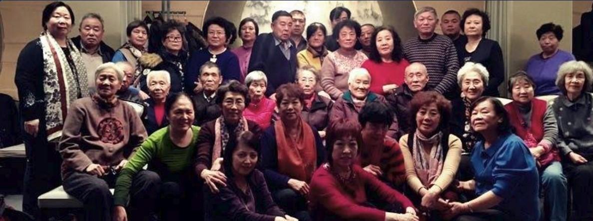 """天安門母親群體:2017年""""天安門母親""""部分難屬新年聚會"""