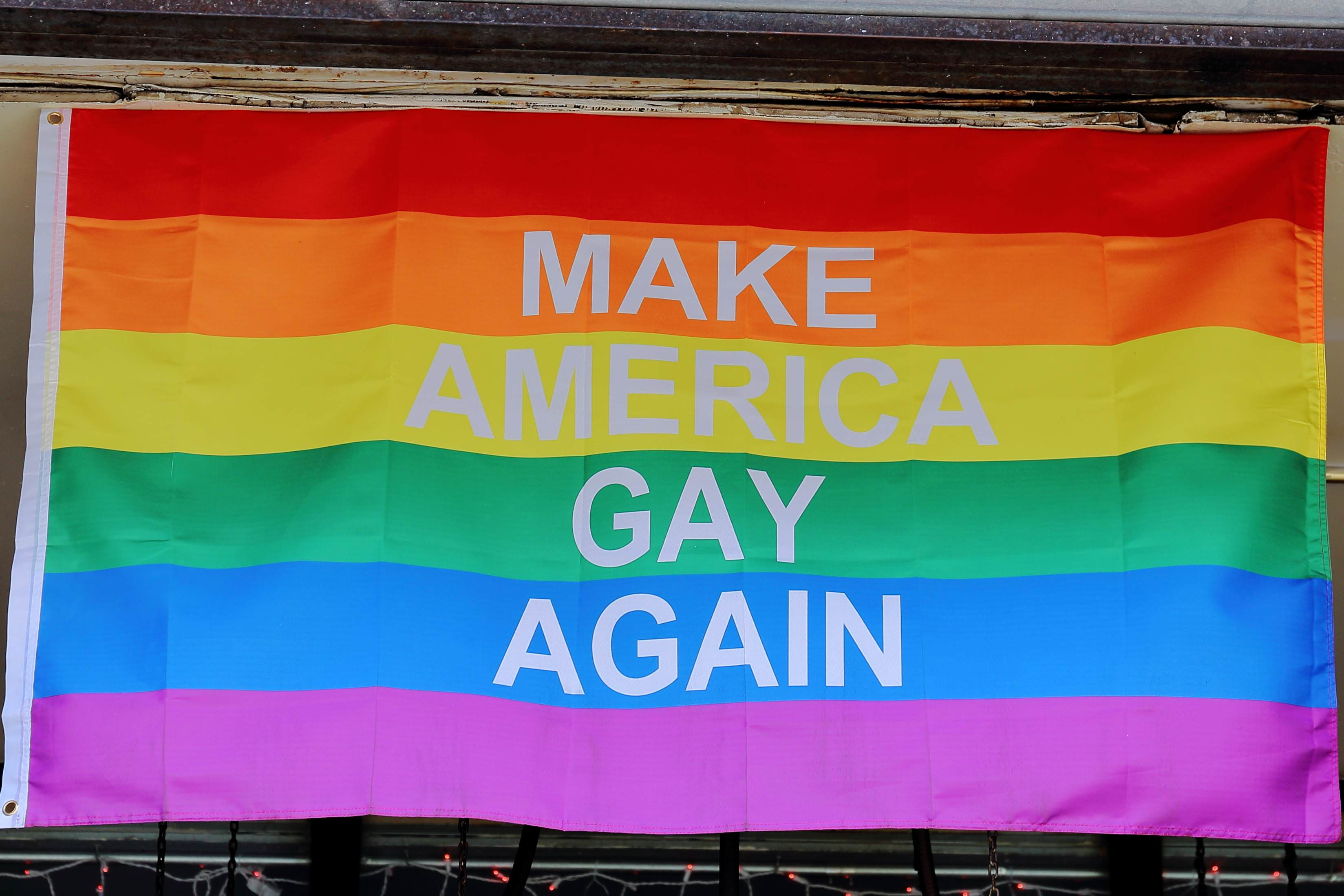 MAKE AMERICA GAY AGAIN 讓美國再次GAY