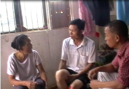 采访罗海丹丈夫及婆婆