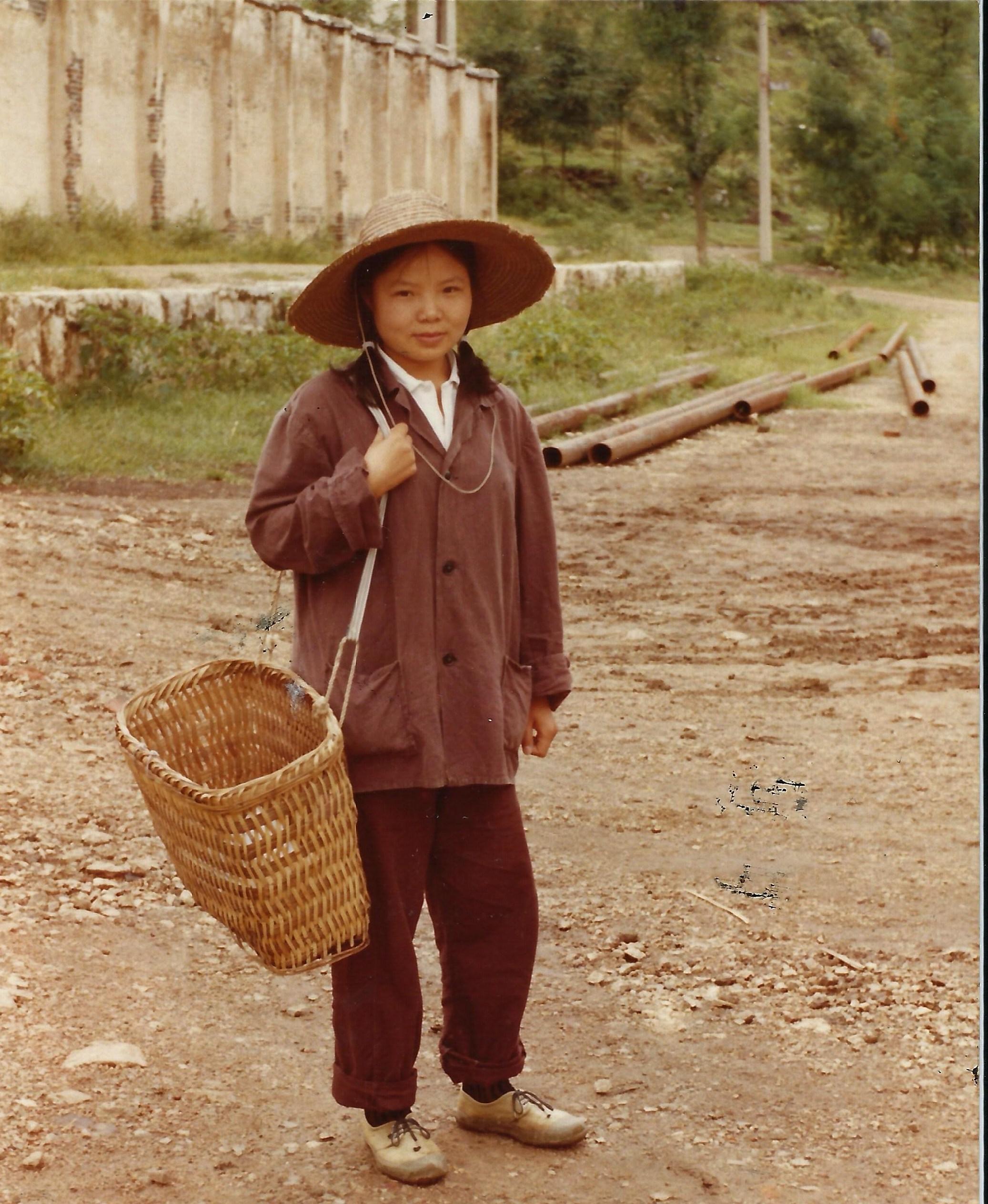 1986年8月16日攝於貴州女子勞改茶場A